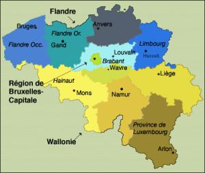 regions belges